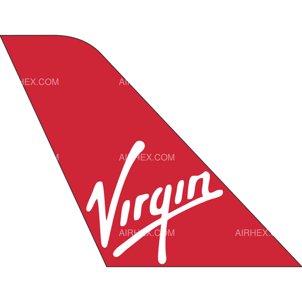 Virgin Atlantic tail logo